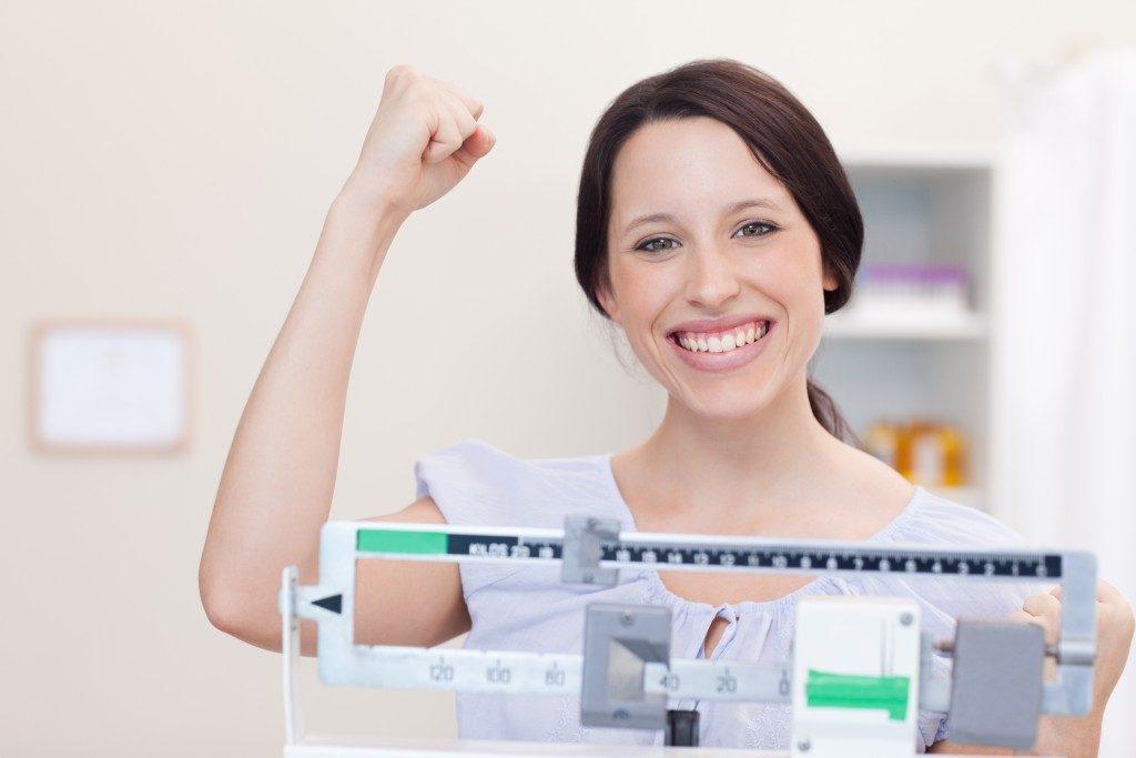 reaching a weight goal