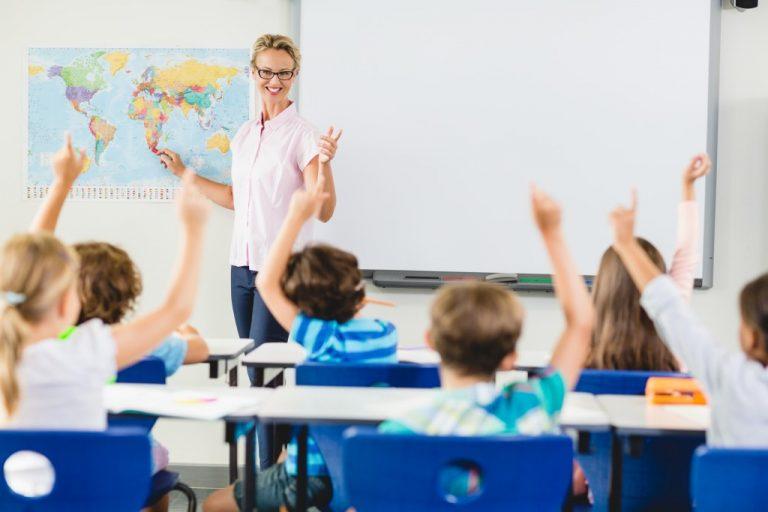 class recitation of elementary kids
