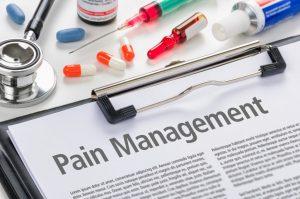 pain management concept