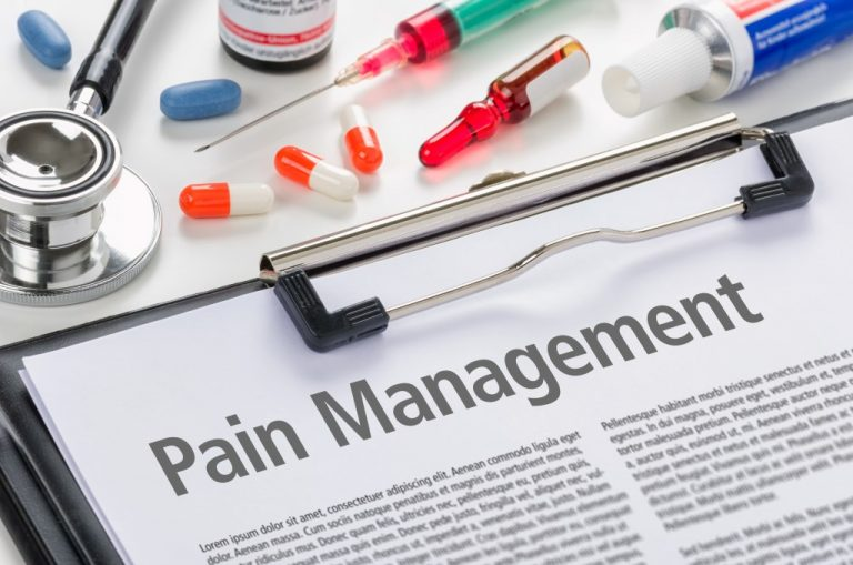 pain management concept