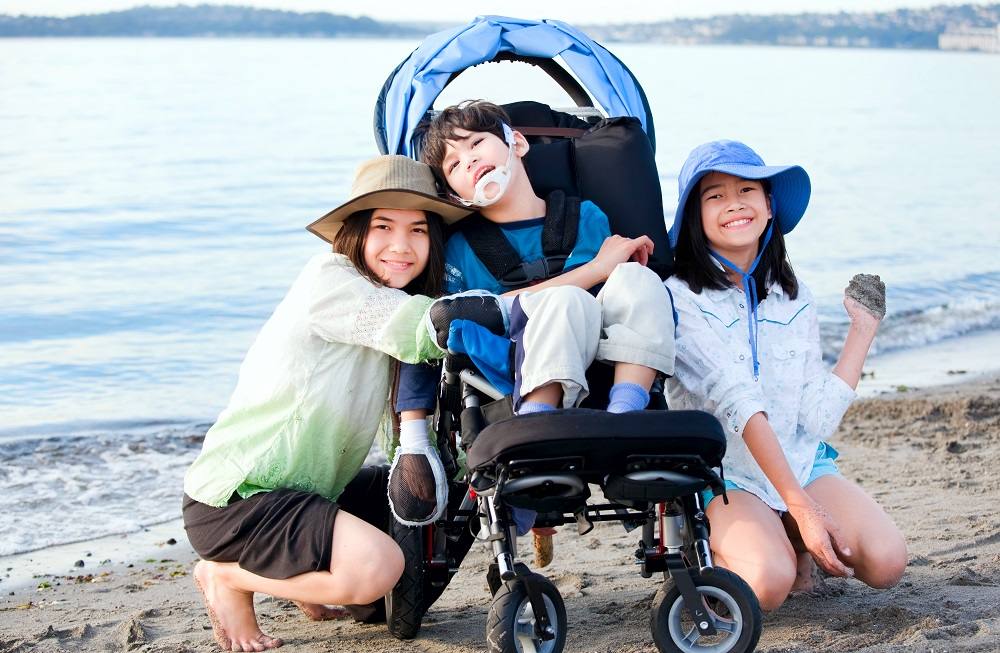 family with disabled child