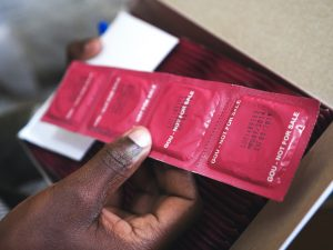 Male condoms