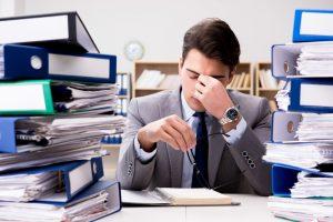 workaholic concept